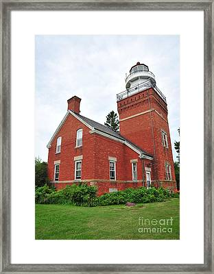 Big Bay Lighthouse Framed Print