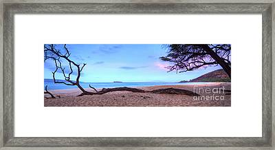 Big Beach In Makena Maui Framed Print by Dustin K Ryan