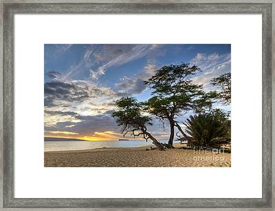 Big Beach Maui Hawaii Sunset Framed Print by Dustin K Ryan