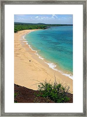 Big Beach Framed Print by Pierre Leclerc Photography