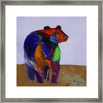 Big Bear Framed Print by Tracy Miller