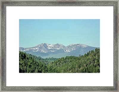 Big Belt Mountains Framed Print