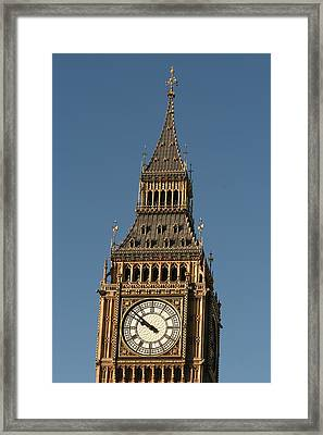 Framed Print featuring the photograph Big Ben by Andrei Fried