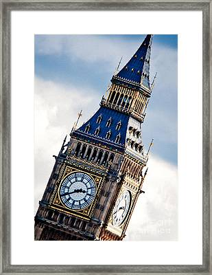 Big Ben Framed Print by Andy Smy