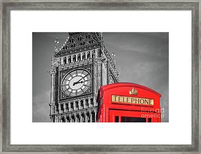 Big Ben Framed Print by Delphimages Photo Creations