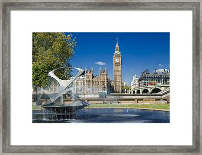 Big Ben Framed Print by Donald Davis