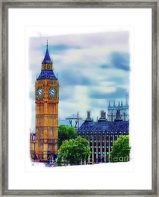 Big Ben Framed Print by Judi Bagwell