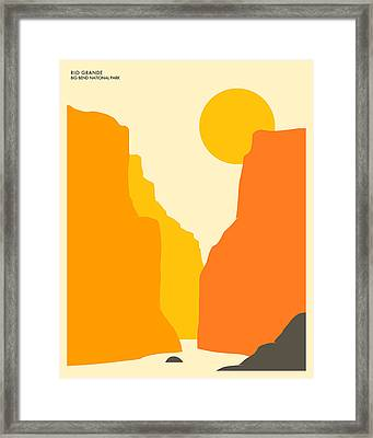 Big Bend National Park Framed Print by Jazzberry Blue