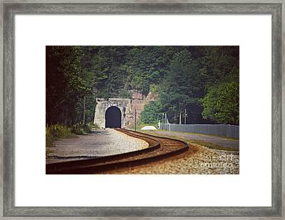Big Bend Tunnel  Framed Print