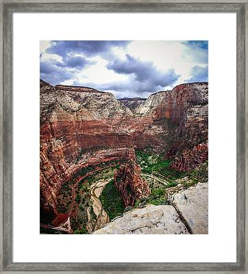 Big Bend Zion National Park Framed Print by Scott McGuire