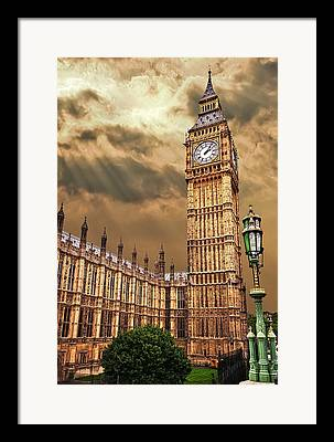 Westminster Palace Framed Prints