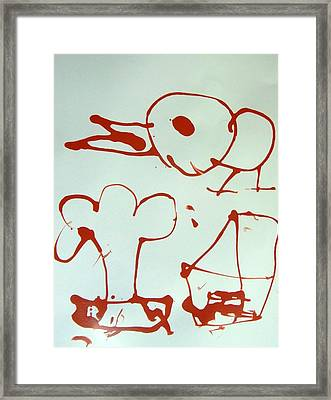 Big Bird Framed Print by Nanak Chadha