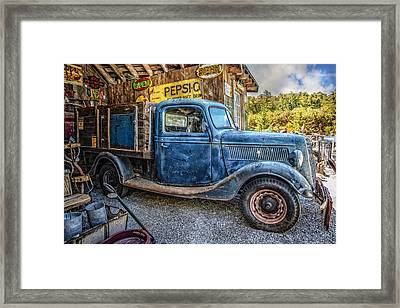 Big Blue Framed Print