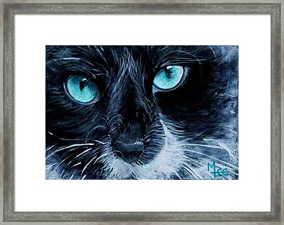 Big Blue Framed Print by Mary-Lee Sanders