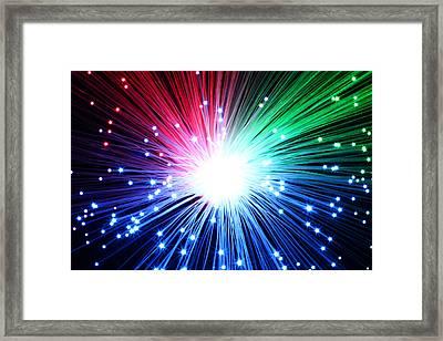 Big Boom Framed Print by Daniel Csoka