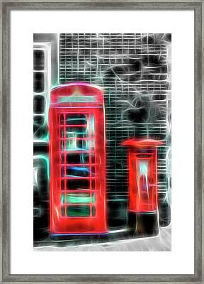 Framed Print featuring the photograph Big Box Little Box by Scott Carruthers