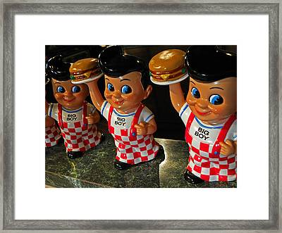 Big Boys Framed Print