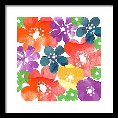 Spring Flowers Paintings Framed Prints