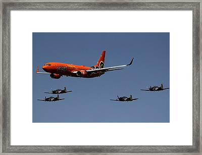 Big Brother Fly Pass Framed Print by Sean Presher-Hughes