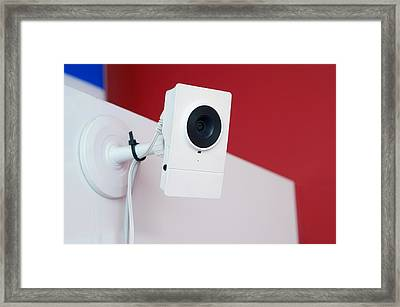 Big Brother Watches You Framed Print
