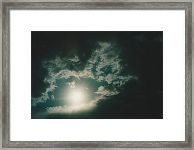 Big Cabin Oklahoma Framed Print by Gene Linder