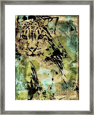Big Cat Framed Print by Mindy Sommers