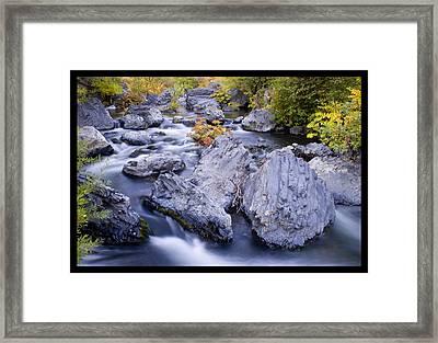Big Chico Creek Framed Print by Craig Sanders