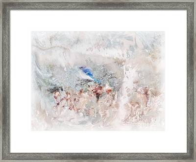 Big Chill Framed Print by Anita Faye