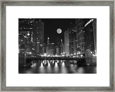 Big City Windy City Framed Print