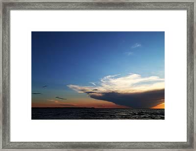 Big Cloud Framed Print