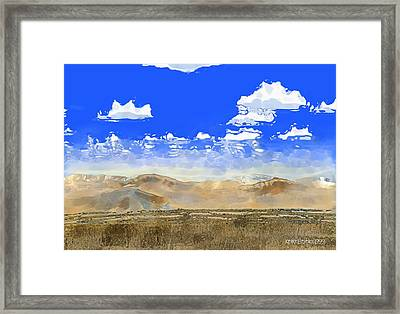 Big Country Framed Print
