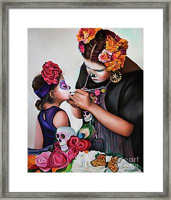 Big Day Framed Print by Barbara Rivera