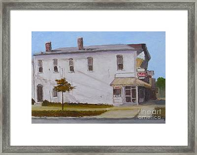 Big Dipper Ice Cream Framed Print