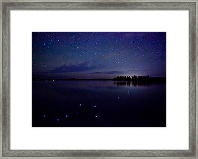 Big Dipper Reflection Framed Print by Adam Pender