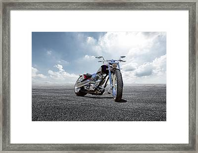 Framed Print featuring the photograph Big Dog Pitbull by Peter Chilelli