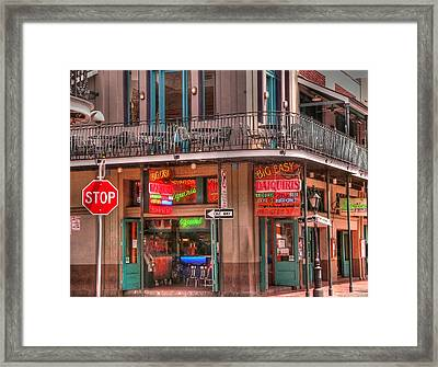 Big Easy Framed Print by David Bearden