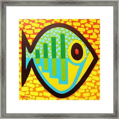 Big Fish Framed Print by John  Nolan