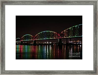 Big Four Bridge 2215 Framed Print