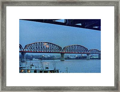 Big Four Bridge Framed Print