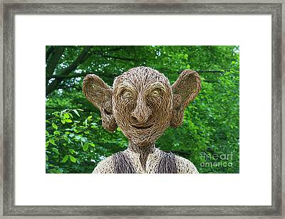 Big Friendly Giant Framed Print by Tim Gainey