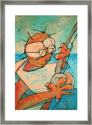 Big Game Sport Fishing Framed Print by Charlie Spear