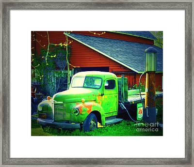 Big Green Framed Print