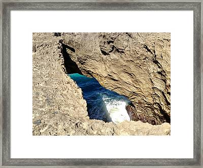 Big Hole  Framed Print
