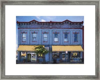 Big Hollow Food Coop Of Laramie Wyoming Framed Print by Priscilla Burgers
