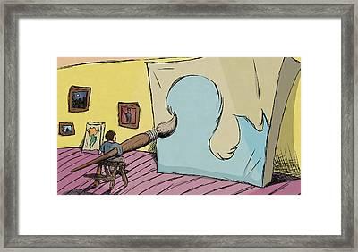 Big Ideas Framed Print