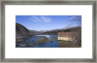 Framed Print featuring the photograph Big Island Power Plant by Alan Raasch