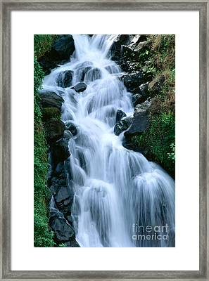 Big Island Waterfall Framed Print
