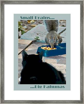 Big Kahunas Framed Print by DigiArt Diaries by Vicky B Fuller