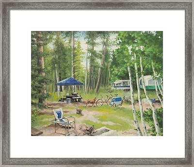 Big Lake 2015 Framed Print