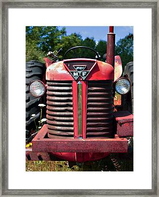 Big M - F Framed Print